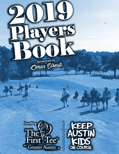2019 PLAYERS BOOK - THE GOLF GIFT THAT GIVES BACK - The